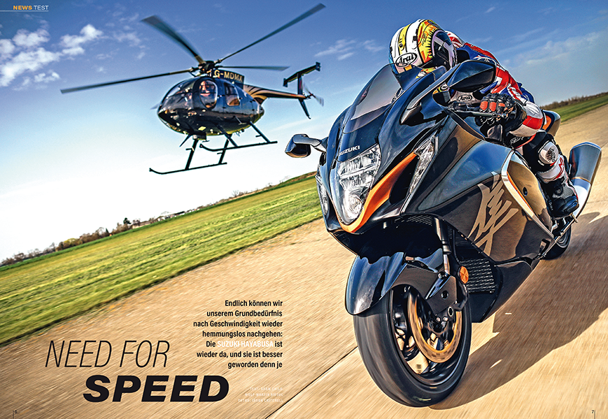 Suzuki Hayabusa: Der Wanderfalke ist zurück — das Speedbike schlechthin kann's noch
