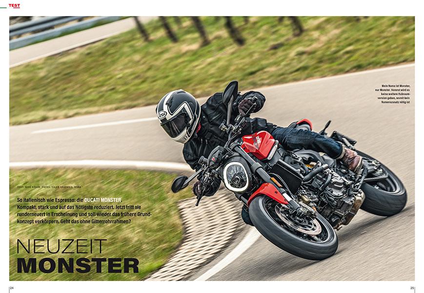 Test Ducati Monster: Ducatis jahrelang bestverkauftes Modell ist rundum erneuert worden