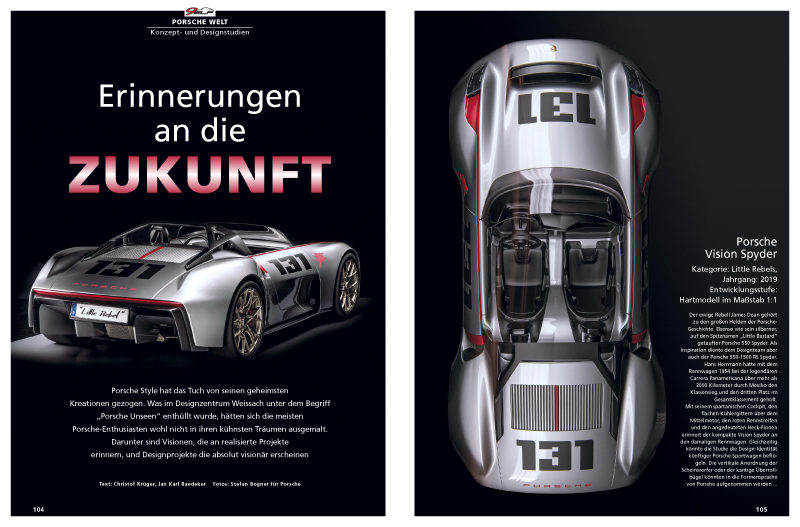 Bisher geheime Porsche-Visionen und -Designprojekte enthüllt