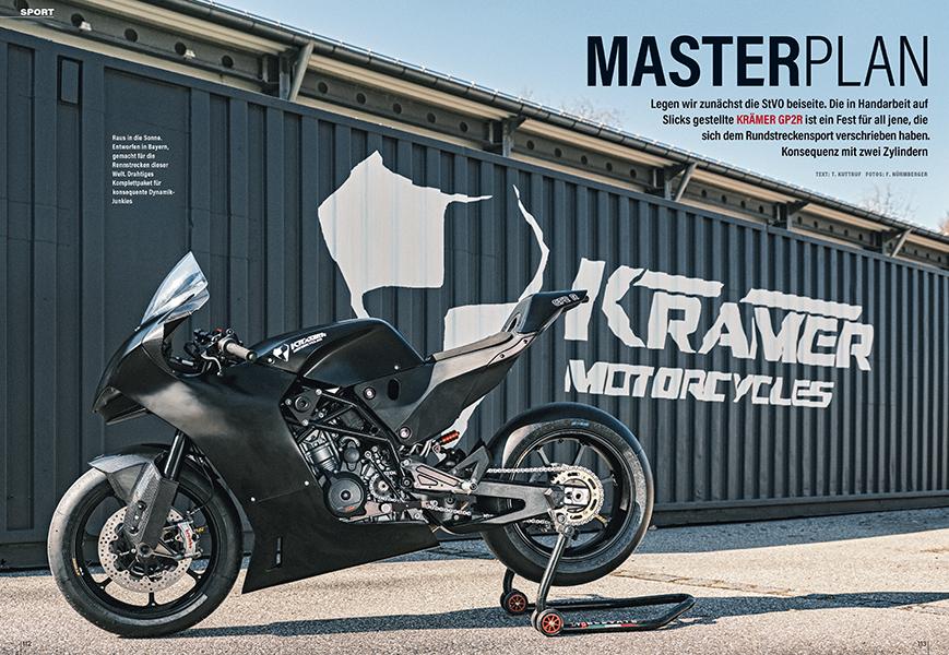 Krämer Motorcycles: kompromisslose Track-Bikes ohne unnötigen Ballast aus Töging in Bayern