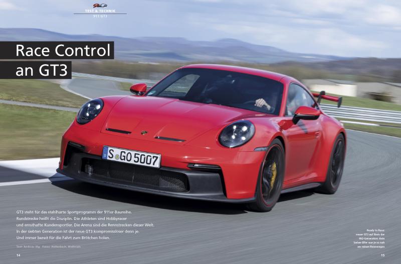 911 GT3: erster Test auf der Rennstrecke