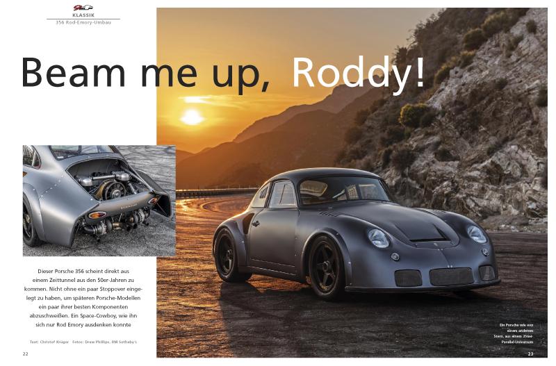 Spektakulärer 356-Umbau von Rod Emory