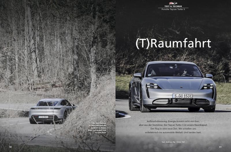 Porsche Taycan Turbo S: Test und Alltagserfahrungen mit der rasanten E-Sportlimousine