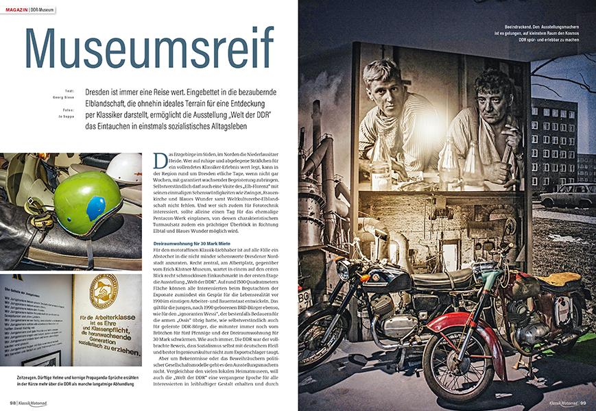 DDR Museum: Erlebnis DDR-Motorwelt in Dresden wie damals