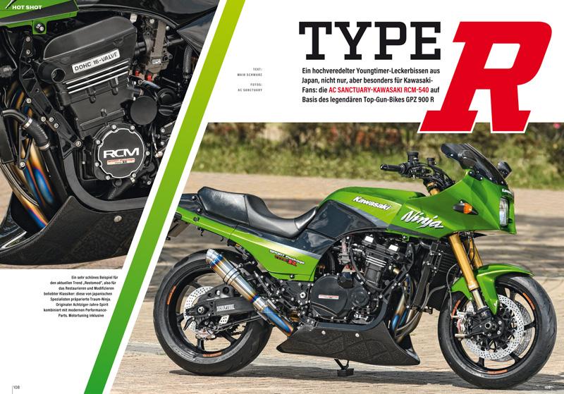 Hochveredelte Kawasaki GPZ 900 R: Youngtimer-Leckerbissen aus Japan
