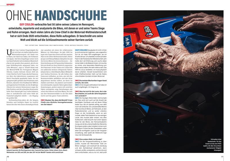Portrait Guy Coulon: 50 Jahre lang im Rennsport, davon 20 Jahre im Tech3-Team in der WM — der französische Teamchef hat viel erlebt