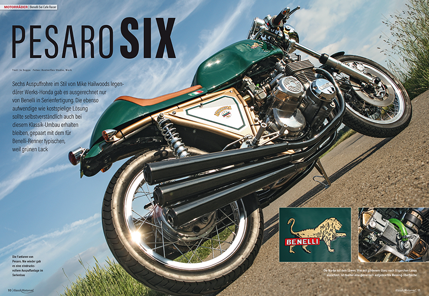 Sixpack: Benelli Sei 750 Cafe Racer