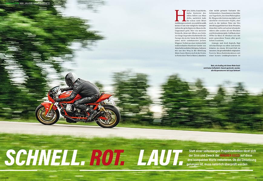 100 Jahre Moto Guzzi: Le Mans 1150