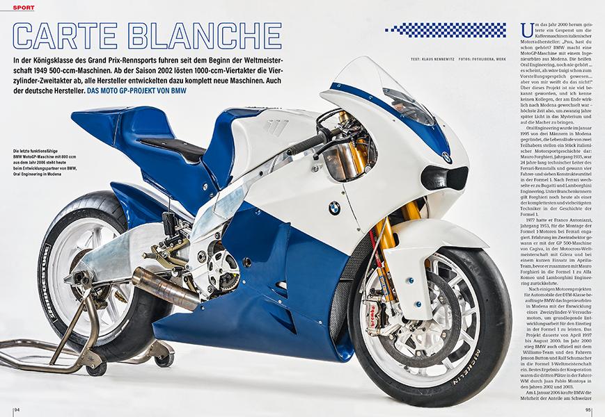 BMW-Prototyp für die MotoGP-Klasse von 2006