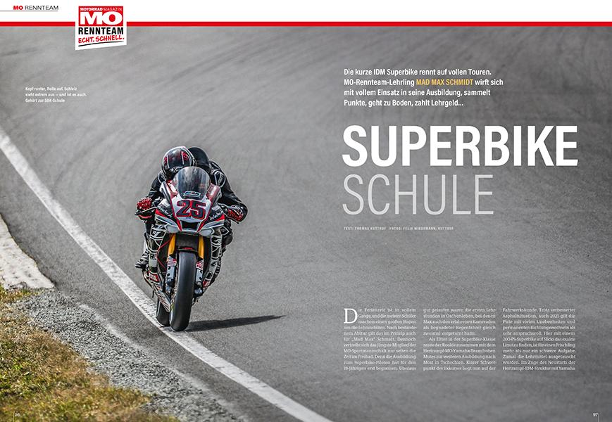 MO-Superbike-Azubi muss Lehrgeld in der Deutschen Meisterschaft bezahlen
