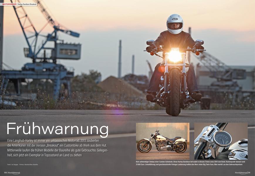 Seltene Gebrauchte: Der 103-cubic-inches-Twin in der Harley-Davidson Breakout noch ohne Wasserkühlung