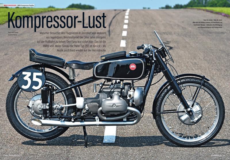 Die legendäre, kompressorgeladene BMW-500er wurde wieder nachgebaut. Erster Praxisversuch