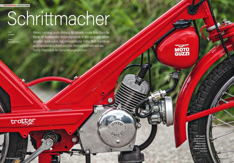 Auch Moto Guzzi kann Mofa: Das Trotter sicherte den Fortbestand der italienischen Marke während der Motorradflaute in den 1960er Jahren