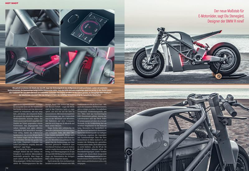 Untitled Motorcycles Zero XP: Alles weg, nur Notwendiges wieder dran — bleibt nicht viel bei einem E-Motorrad