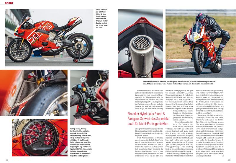 Schilling-Ducati Panigale: Eine Unfall-Panigale wurde zur Super-Panigale mit 230 PS bei 160 Kilogramm