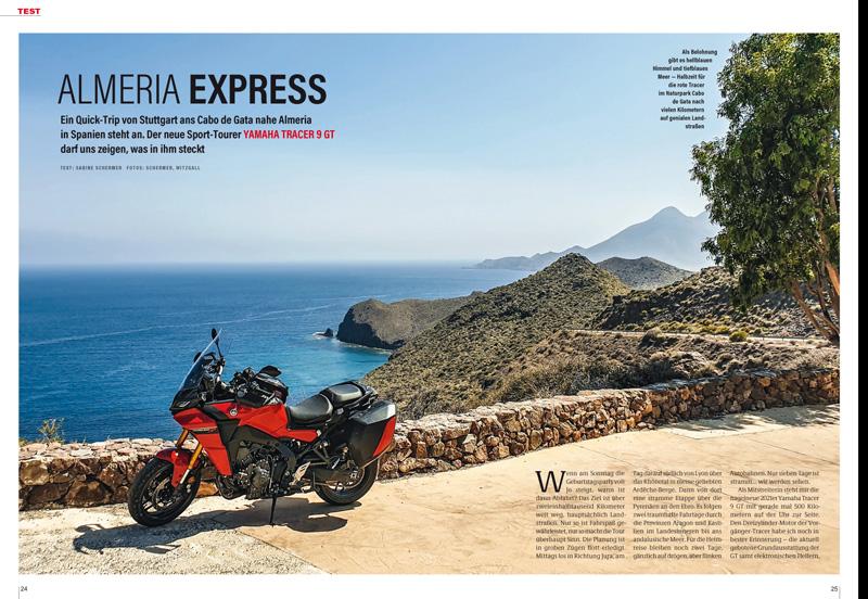 Härtetest Yamaha Tracer 9 GT über 5000 Kilometer in acht Tagen